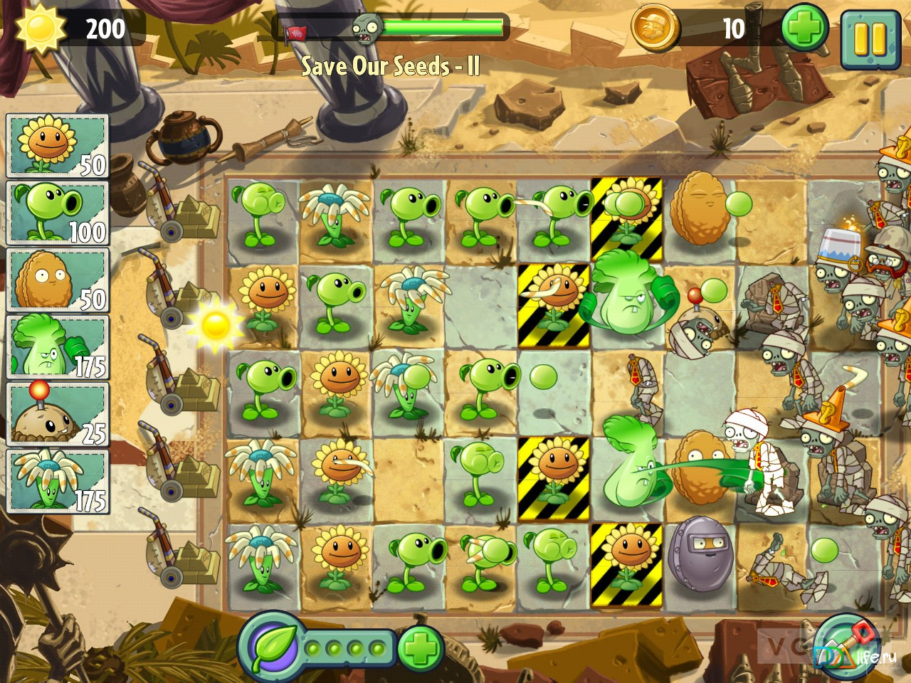 Скачать plants vs zombies с модами